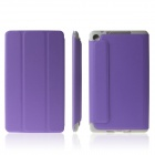 ENKAY ENK-7106 Protective PU Leather Case for Google Nexus 7 II - Purple