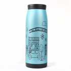 Triumphal Arch Pattern Stainless Steel Vacuum Bottle - Blue (250ml)