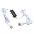 CHEERLINK PC to HDTV USB Direct Output High-Definition Movies Cable - White + Black + Silver
