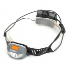 Sunree Search Cree XP-E R3 + 4-LED 200lm 8-Mode White + Red Sports Headlamp - Grey (2 x AA)