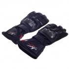 PRO-BIKER Fashion Velcro Tape Outdoor Motorcycle Full-finger Gloves for Men - Black (Size XL)