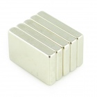 30*20*5mm NdFeB Neodymium Magnet DIY Set - Silver (5PCS)