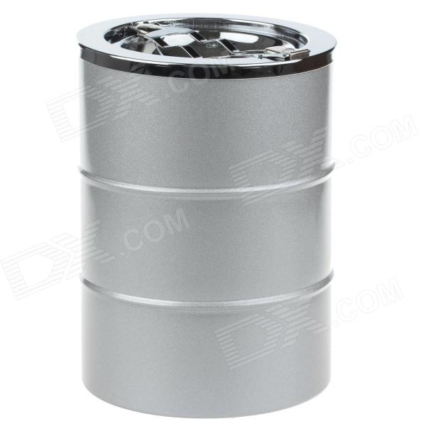 4477 Extrusion Switch Stainless Steel Ashtray - Silver ashtray