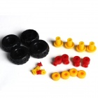 Iron Commander SM146753 DIY Metal Deformation of Assembling Trucks - Silver + Yellow + Red