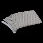 Nail Polish Arc Stick Strip - Grey White (50 PCS)