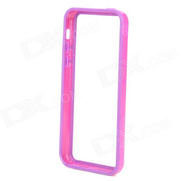 Protective TPU + PC Bumper Frame for Iphone 5C - Purple