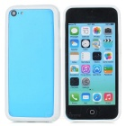 Protective TPU + PC Bumper Frame for Iphone 5C - White