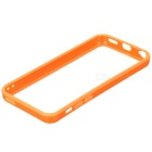 Protective TPU + PC Bumper Frame for Iphone 5C - Orange