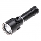 KX-0082 600lm Dimming White Diving Flashlight w/ Cree XM-L2 T6 - Black (1 x 18650)