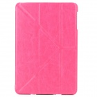 Protective PU Leather Case for Ipad MINI - Deep Pink