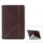 Y Type Protective PU Leather Case for iPad Mini - Coffee