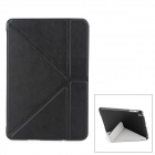 Stylish Protective PU Leather Case w/ Auto Sleep for iPad Mini - Black