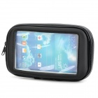 Bike Protective Waterproof Bag w/ Mounting Holder for Samsung Galaxy S3 i9300 / S4 i9500 - Black