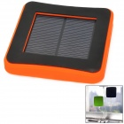 2600mAh USB Solar Powered External Emergency Charger for iPhone 4 / 4S / 5 / Samsung / HTC - Orange