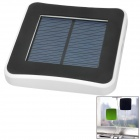 2600mAh USB Solar Powered External Emergency Charger for iPhone 4 / 4S / 5 / Samsung / HTC - White
