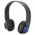 GBLUE G3S Stylish Bluetooth v3.0 + EDR Headphones w/ Microphone for Iphone 5 - Black + Silver