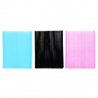 006 Magic Seamless Front Hair / Fringe Sticker - Black + Blue + Deep Pink (6 PCS)