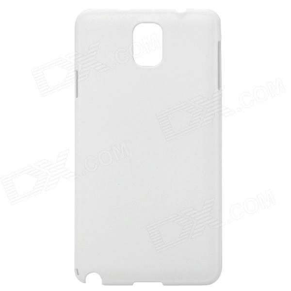 Protective Frosted Plastic Back Case for Samsung Galaxy Note 3 - White