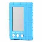 "3-in-1 2.5"" LCD Battery Balance / Discharge / Voltage Monitor - Blue"