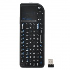 RII MINI X1 Mini Wireless Air Mouse Keyboard Combo + Touch pad  with Smart Android OS - Black