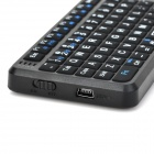 RIIRT-MWK01(X1) Mini Wireless Air Mouse Keyboard Combo + Touch pad  with Smart Android OS - Black
