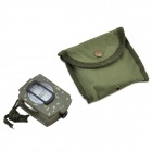 Military Lensatic  Prismatic Compass - Army Green Camouflage Matte