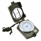 Military Lensatic Prismatic Compass - Army Green Camouflage Matt