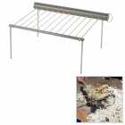 Alocs CF-PG01 Outdoor Portable Stainless Steel + Aluminum Barbecue Stand - Silver