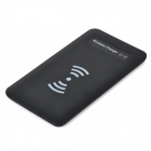 5V 1000mAh Micro USB Wireless Charger for Samsung S3 / S4 / HTC / Nokia / Iphone 4 / 4S / 5 - Black