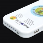 WPC Wireless 4200mAh Mobile Power Bank - Blanco (enchufe de EE.UU.)