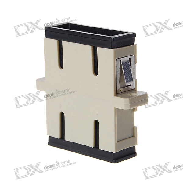 SC/UPC Multimode Duplex Fiber Optic Adapter Coupler w/Phosphorous Bronze Sleeve