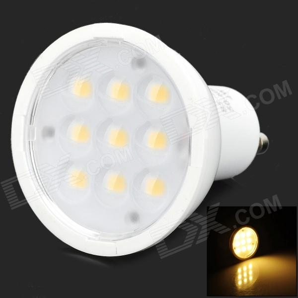 GU10 4W 162LM 3200K 9-LED Warm White Ligh Spotlight (AC85-245V) цена и фото
