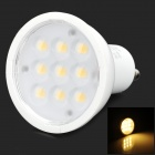 GU10 4W 162LM 3200K 9-LED Warm White Ligh Spotlight (AC85-245V)