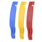 SOURCE TW-LZ80 Bike Bicycle Repair Tool Plastic Tire Levers - Blue / Red / Yellow (3 PCS)