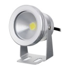 IP67 vedenpitävä 8W 400lm 6500K White Light COB LED Spotlight / Underwater Lamp - Hopea