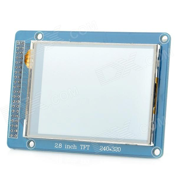 XS 01 2.8 TFT LCD Display Screen Module for Arduino - Blue 1 3 inch 128x64 oled display module blue 7 pins spi interface diy oled screen diplay compatible for arduino