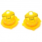 Replacement Direction Button for Wireless Joystick Xbox 360 Slim - Yellow