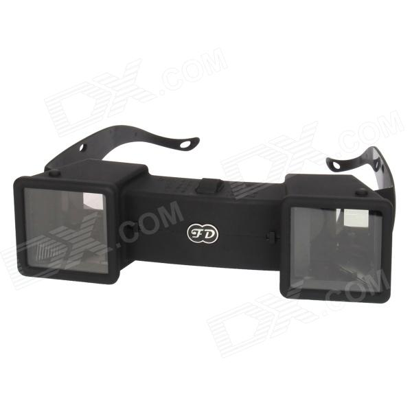 Mini 3D Stereo Viewer Stereoscope - Black
