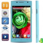 "H3038 MTK6572 Dual Core Android 4.2.2 WCDMA Bar Phone w/ 4.5"", 512MB RAM, 4GB ROM, GPS - Light Blue"