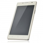 "H3060 MTK6517 Android 4.1 Dual Core GSM Bar Phone w/ 5.0"", Quad-Band, FM and Wi-Fi - White"