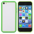 Protective PC + TPU Bumper Case for Iphone 5C - Green