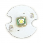 3W 200lm Cool White Emitter on 14mm Star for Flashlight - White + Silver