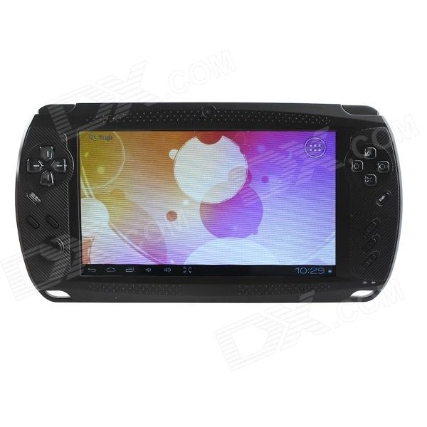 "ESER C7001 7"" Android 4.0 PSP Game Console w/ Wi-Fi / HDMI / Dual-Camera / TF - Black"