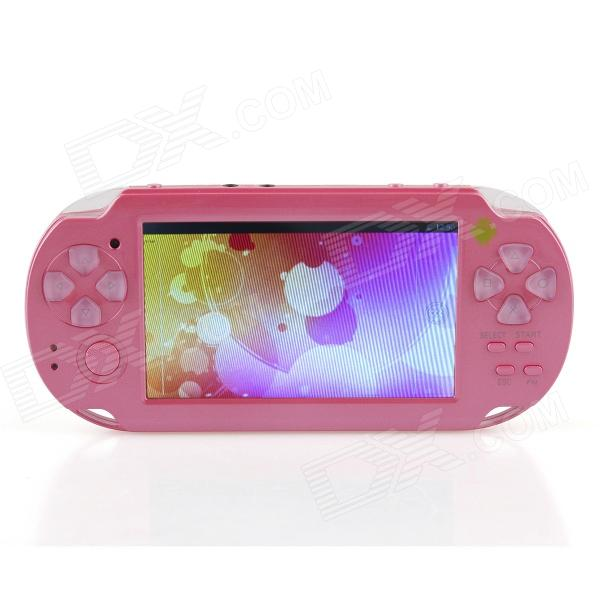 ESER YXJ-01 4.3 Android 4.0 PSP Game Console w - WiFi - HDMI - Dual Camera - Deep Pink