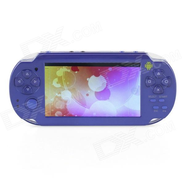 ESER YXJ-04 4.3 Android 4.0 PSP Game Console w - WiFi - HDMI - Dual Camera - Blauw