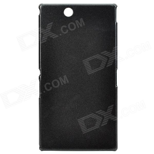 PUDINI Protective PC Back Case for Sony XL39h Xperia Z Ultra - Black смартфон sony xperia xa1 ultra dual