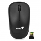 Genius bluepin A1 Wireless 2.4GHz 1200dpi Optical Mouse - Schwarz (1 x AAA)
