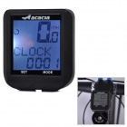 "Acacia 076202 1.3"" LCD Multifunction Wired Bike Computer - Black (1 x CR2032)"