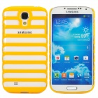 Protective Plastic Case for Samsung i9500 / i9508 - Yellow