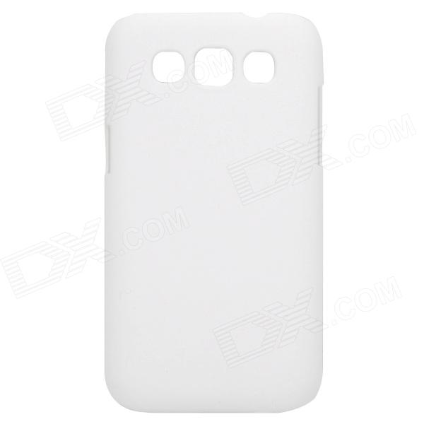 Stylish Protective PC Back Case for Samsung i8552 - White pudini wb i8552 stylish protective matte pc back case for samsung i8552 galaxy win black